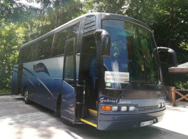 Транспортний супровід на автобусах тур.комплектації місткістю 35-38 пасажиромісць.