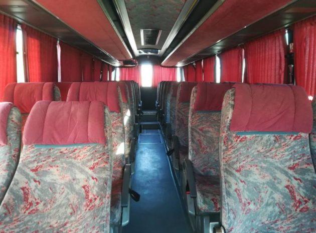 Туристичні автобуси хорошої якості для транспортування клієнтів, персоналу, співробітників зі Львову чи по Львову