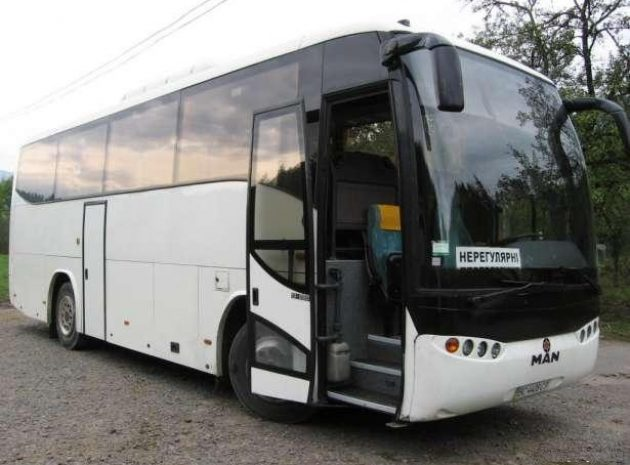Найняти автобус у Львові для транспортного супроводу, міжнародних перевезень.